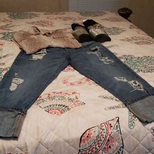 True religion comfortable button fly jeans